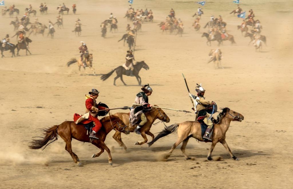 guerreros mongoles